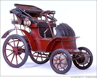 and here 39 s a picture of the first hybrid car ever built from 1898 yes. Black Bedroom Furniture Sets. Home Design Ideas