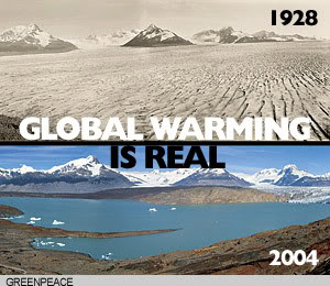 is the global warming real Short answer: yes even a seemingly slight average temperature rise is enough to cause a dramatic transformation of our planet.