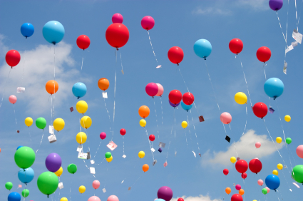 Many Beautiful Balloons In The Sky : No More Balloons? - SiOWfa12: Science in Our World: Certainty and ...