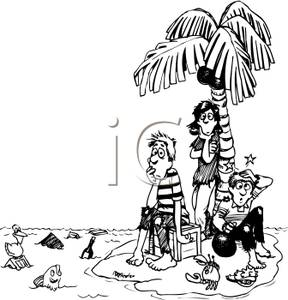 Black_and_White_Family_Stranded_on_an_Island_Royalty_Free_Clipart_Picture_090913-141648-423009.jpg