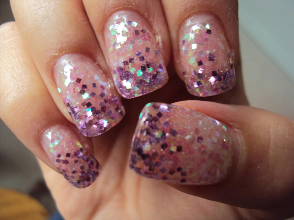 glitter nail designs and creative ideas - Gel Nails Designs Ideas