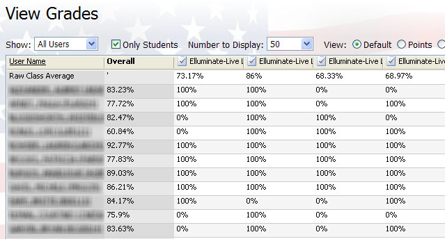 Wonderful For Many Of Their Online Assignments, Students Can Immediately Get Feedback  And See Their Grades. The Following Is A Snapshot Of How The Online  Gradebook ...