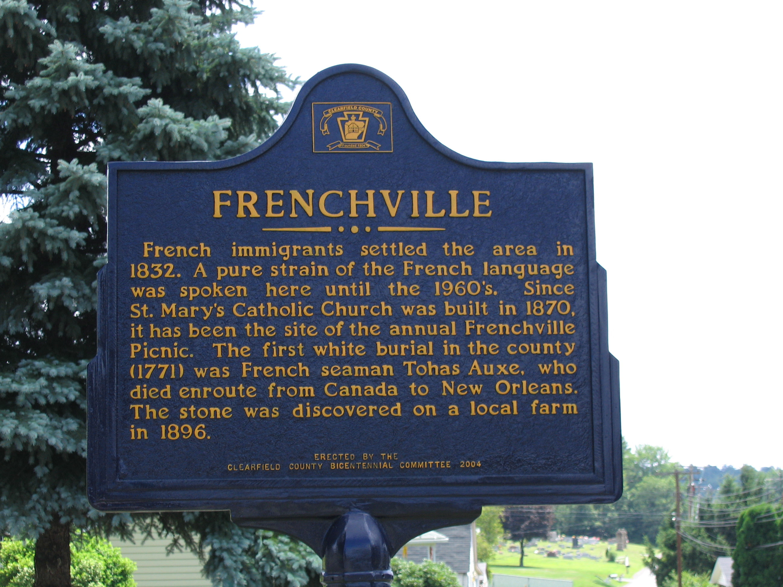 Frenchville America Today