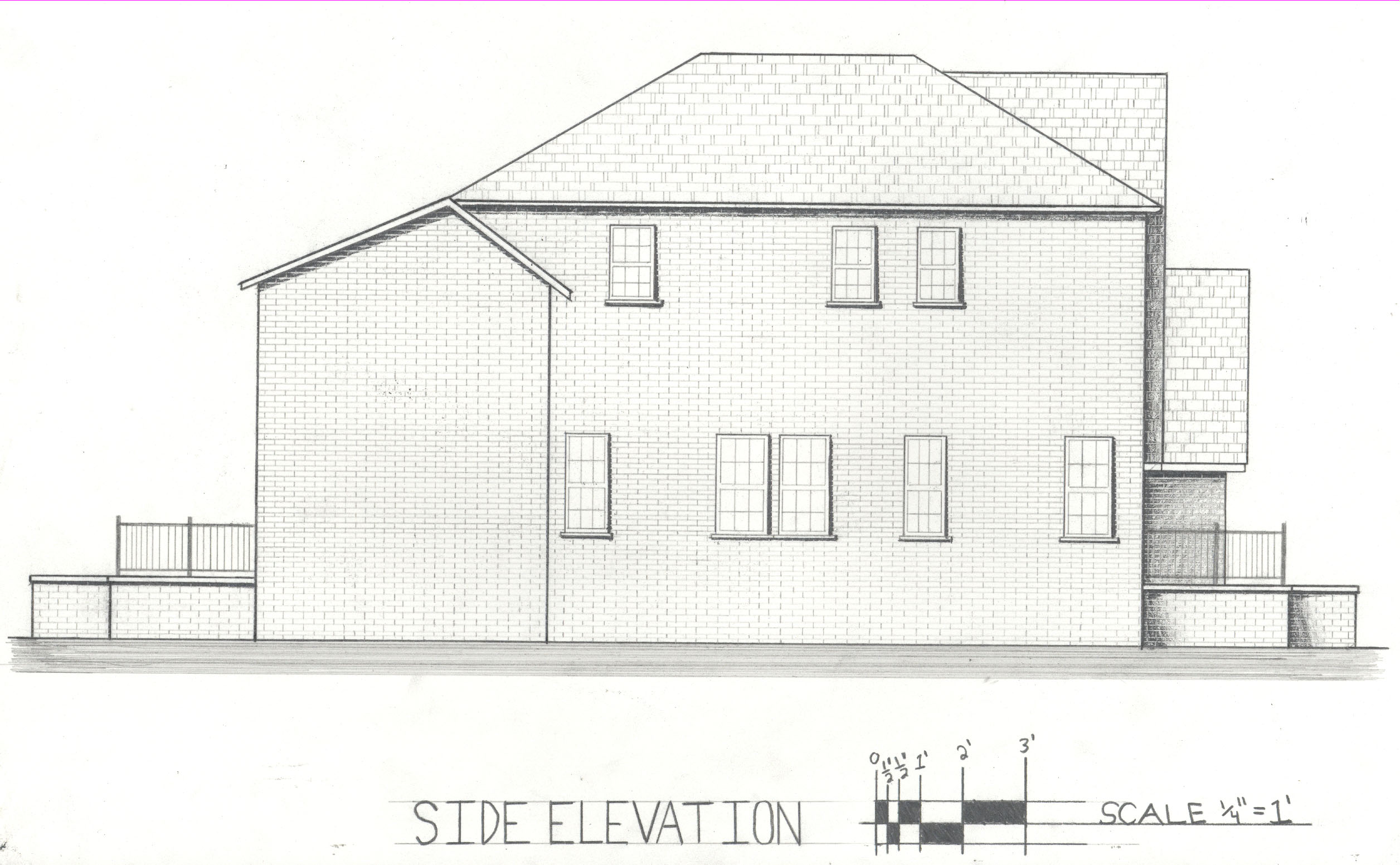 Front Elevation Arch : Carmen anthony brutico iii