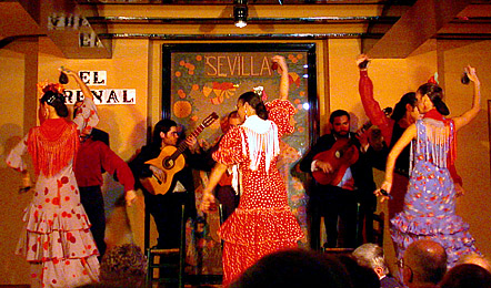 Carmen and jim 39 s virtual tour of spain seville for Espectaculo flamenco seville sevilla
