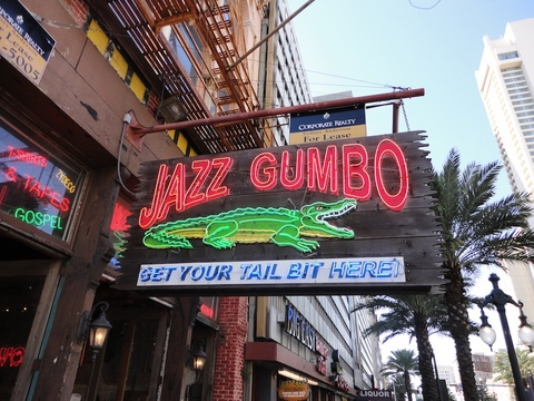 A little jazz, a little gumbo