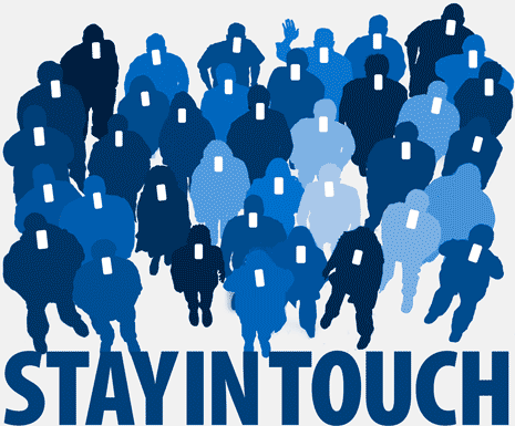 Stay in touch digitally.