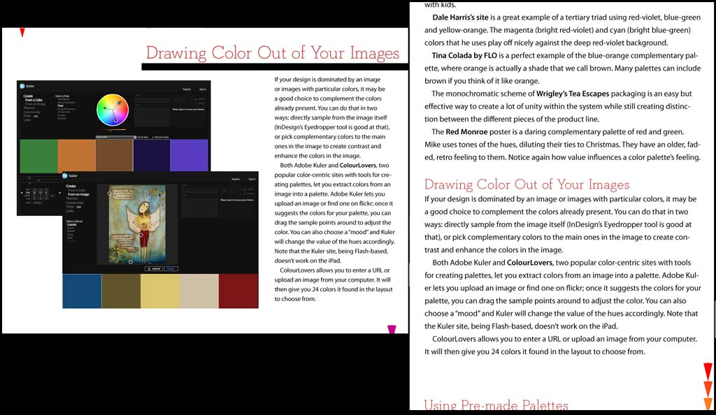 InDesign Magazine for iPad - Clone of screaming red ass sock monkey
