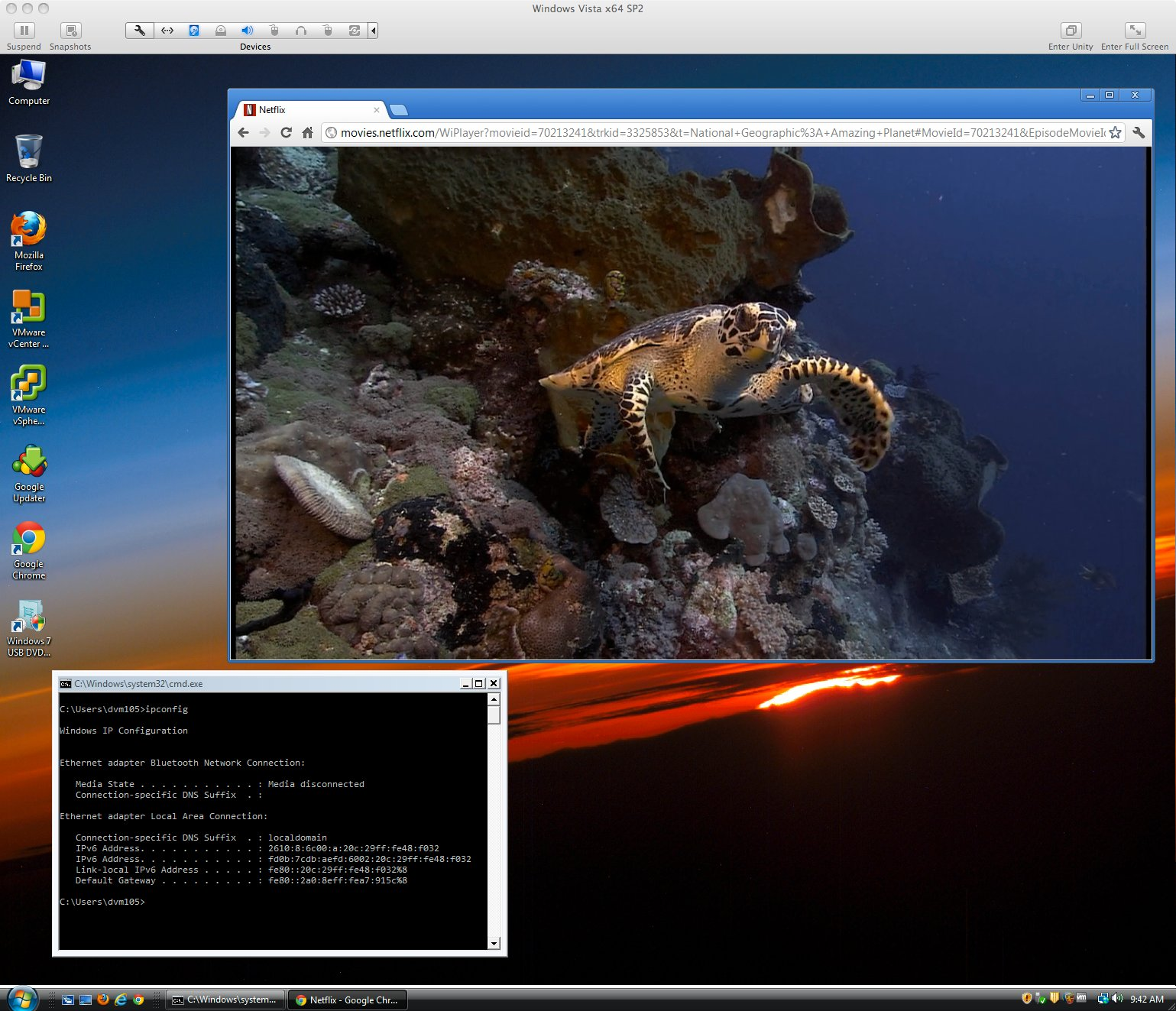 Streaming Nat Geo's Amazing Planet over IPv6