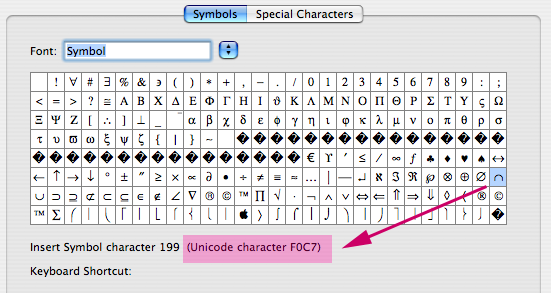 Microsoft Word Logic Inserting The Right Code Point Got Unicode