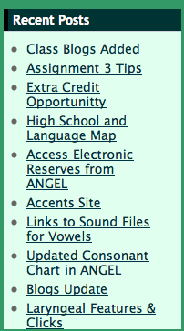 Screen Capture Sidebar with External Links
