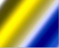 Spectrum altered to shades of yellow and blue