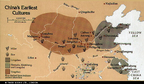 Map Of China Yellow River.Hs10 Ancient China Maps