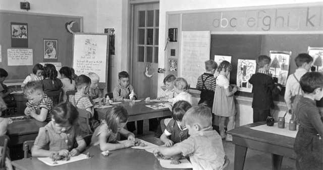 art education history 1940s