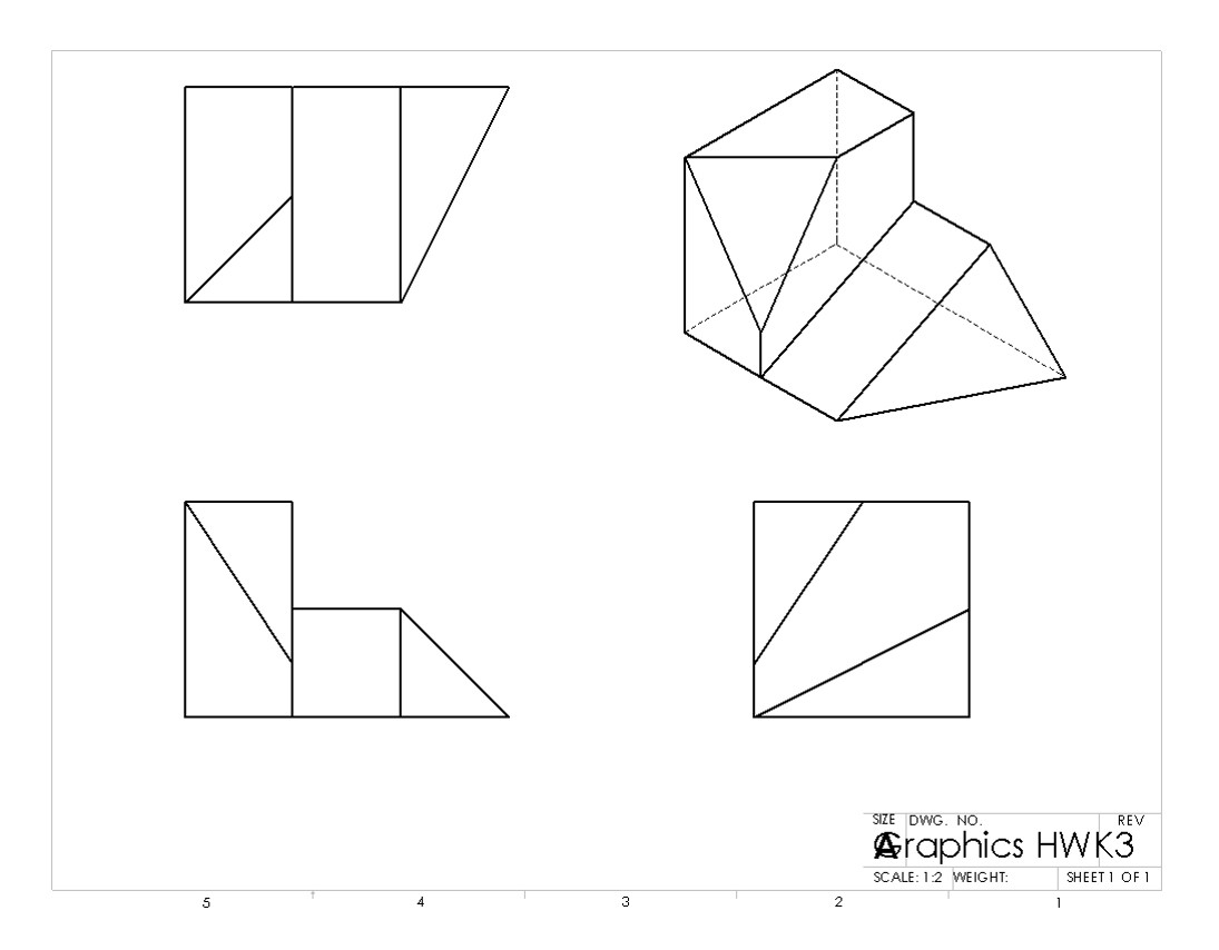 how to draw isometric projection in engineering drawing