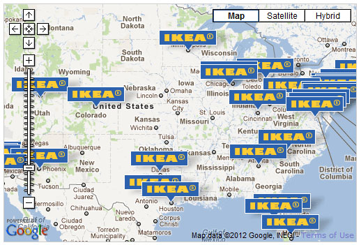 Ikea Case Study - Maps of ikea us