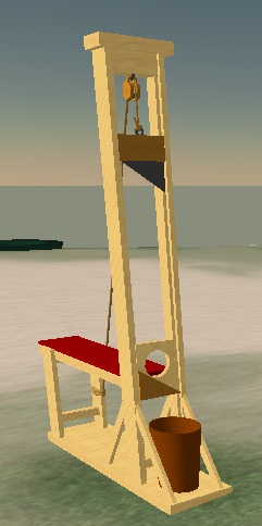 how to make a simple guillotine model