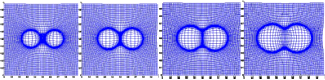 mesh motion for 2d microstructure