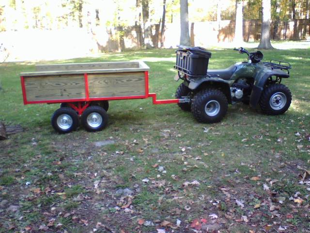 Trailer To Pull Behind Your Atv My Tractor Forum