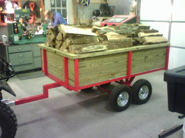 Trailer To Pull Behind Your Atv Mytractorforum Com The