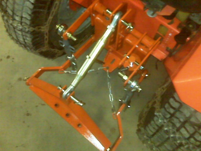 Building A 3 Point Hitch For My Ingersoll 4016 Page 2