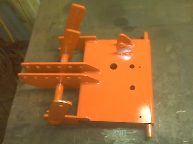 Homemade Garden Tractor 3 Point Hitch Plans : Building a point hitch for my ingersoll