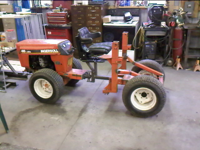 Home Built Articulating Garden Tractor : Articulated case loader tractor page mytractorforum