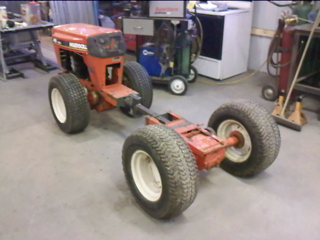 Articulation Joint Build Mytractorforum Com The