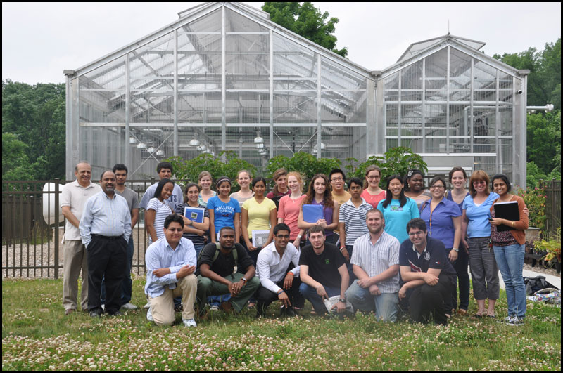 Summer 2012 research at Biofuels lab (Funding provided by NSF- REU, ROA, RAHSS programs and NIH MARC U STAR)