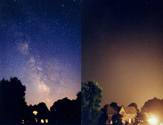 ... and after effects of light pollution why care about light pollution