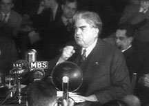 Image result for john l lewis radio broadcast sept 3, 1937