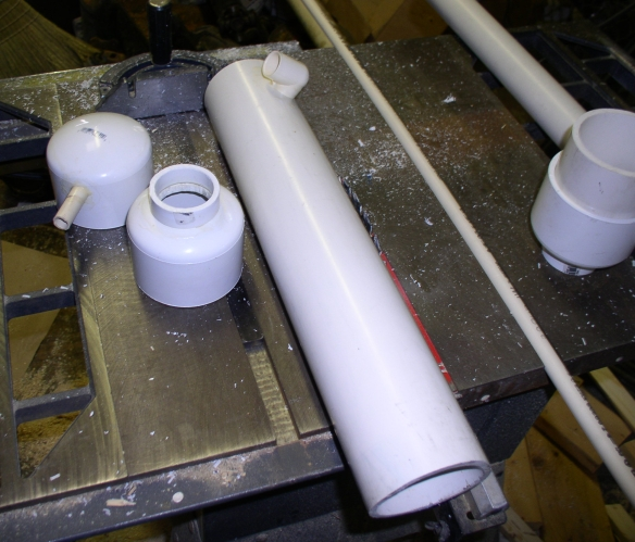 A cheap pvc skimmer do it yourself nano forums for Homemade skimmer filter
