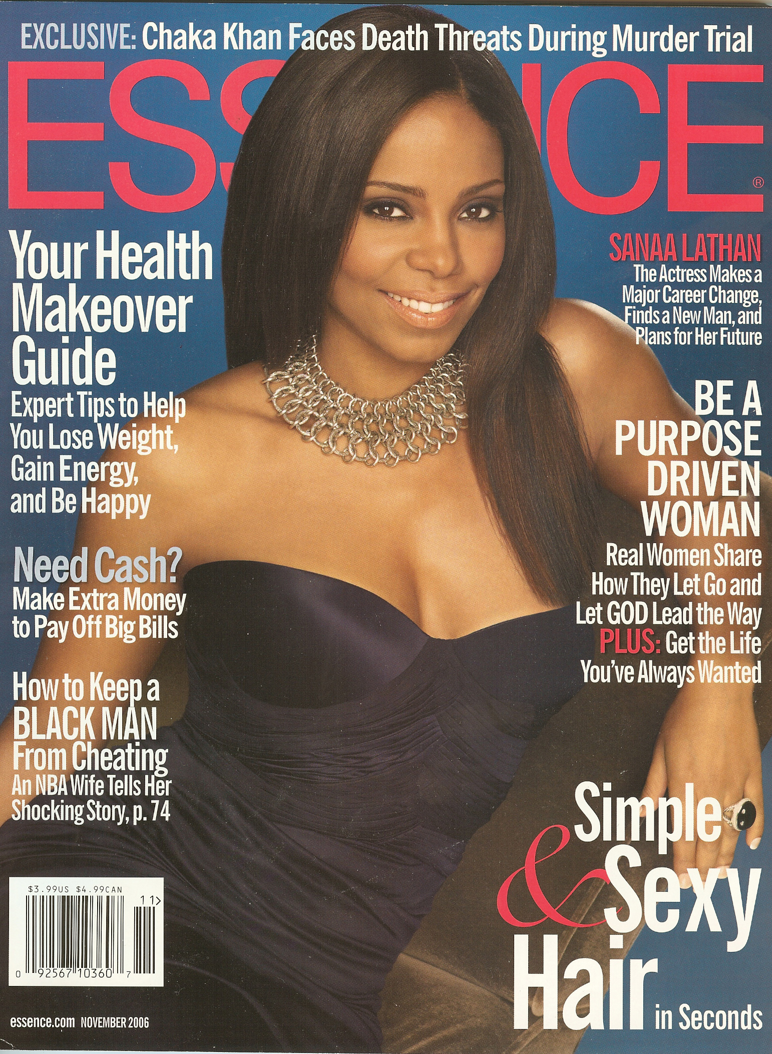 Essence Magazine Covers 2006