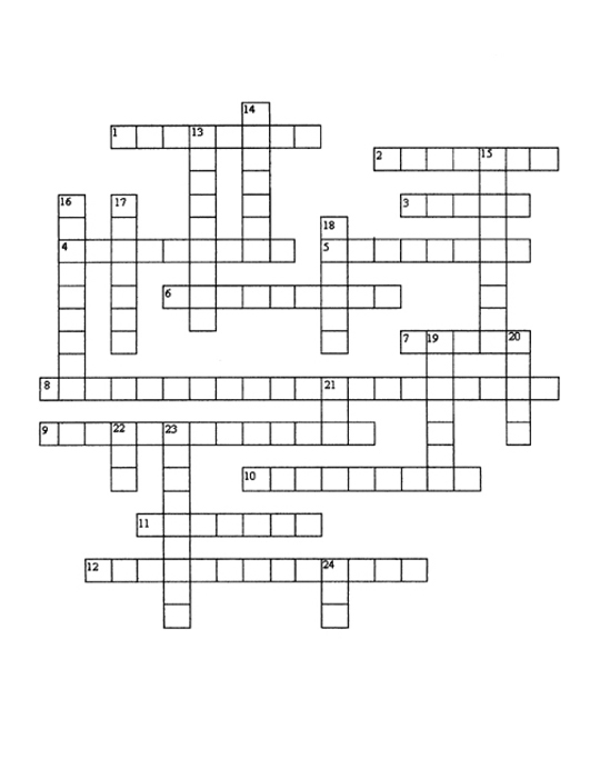 Cell Structure And Function Crossword Puzzle on Cell Structure And ...