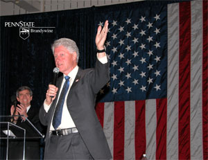 Sestak and Clinton