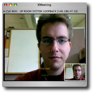 XMeeting in-call