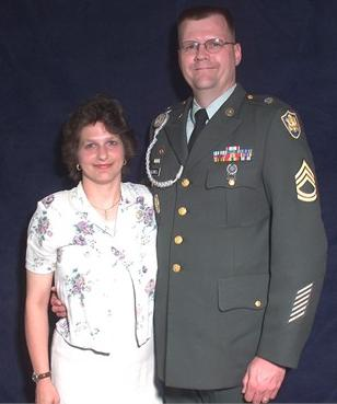 Picture of SFC Caldwell Retirement