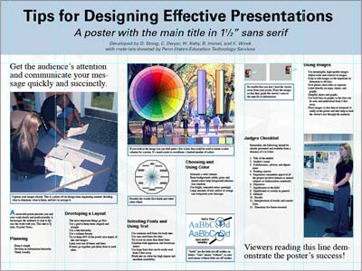 Poster master thesis